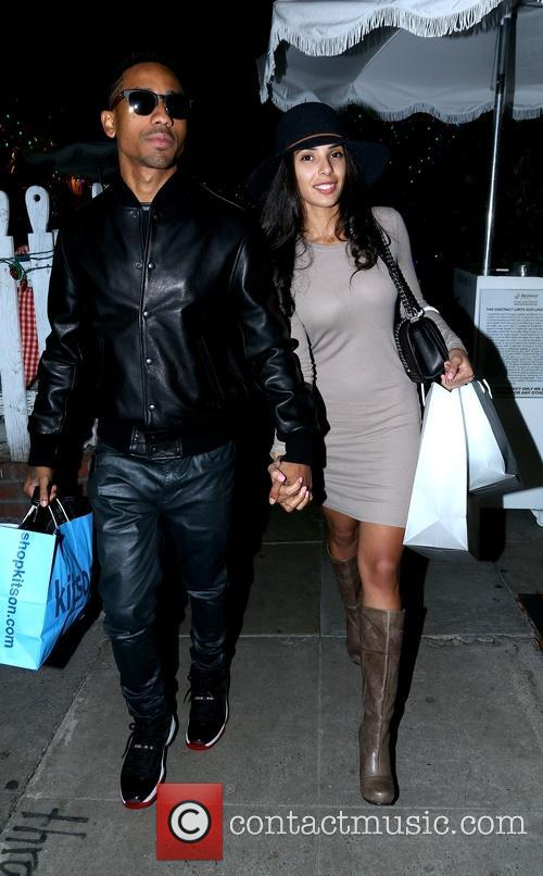 Brandon T. Jackson and Denise Xaviar 3