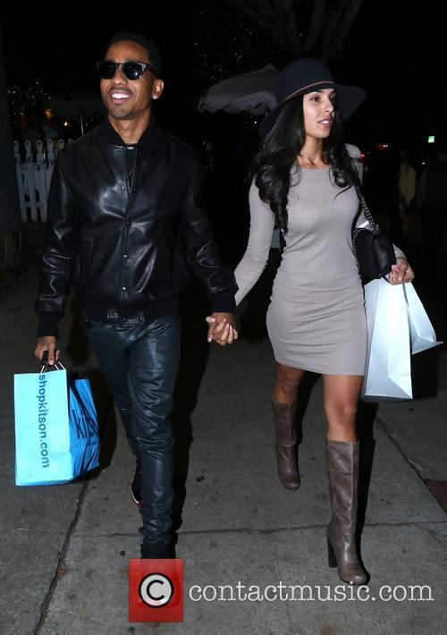 Brandon T. Jackson and Denise Xaviar 5