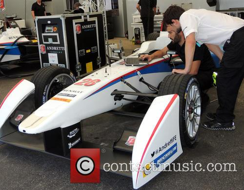 Electronics In The Garage At Formulae Car 3