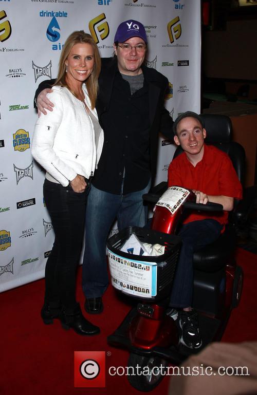 Cheryl Hines, Jamie Gold and Jacob 4