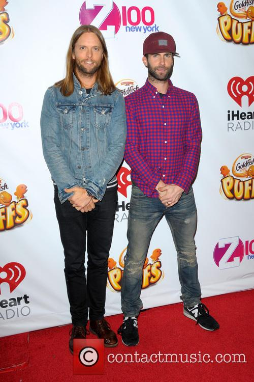 James Valentine and Adam Levine 2