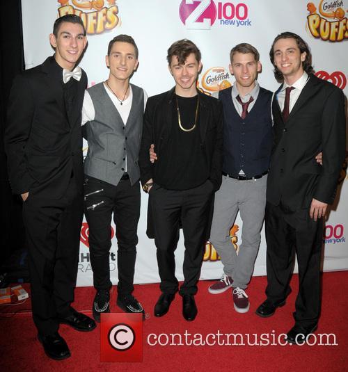 Tyler O'leary, Nick Yurisak, Joseph Mastando, Lenny Morales and Nick Cardona 4