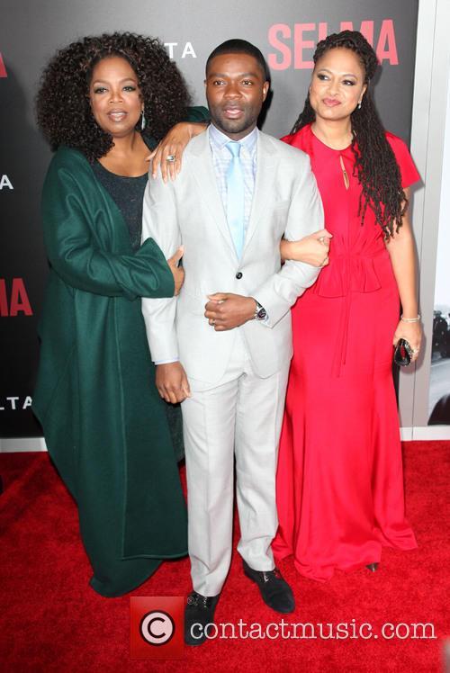 Oprah Winfrey, David Oyelowo and Ava DuVernay at 'Selma' premiere