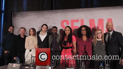 Ava Duvernay, Common, Tim Roth, Carmen Ejogo, Andre Holland, Jeremy Kleiner, Dede Gardner and David Oyelowo