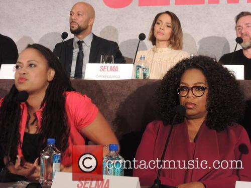 Oprah Winfrey, Common and Carmen Ejogo 1