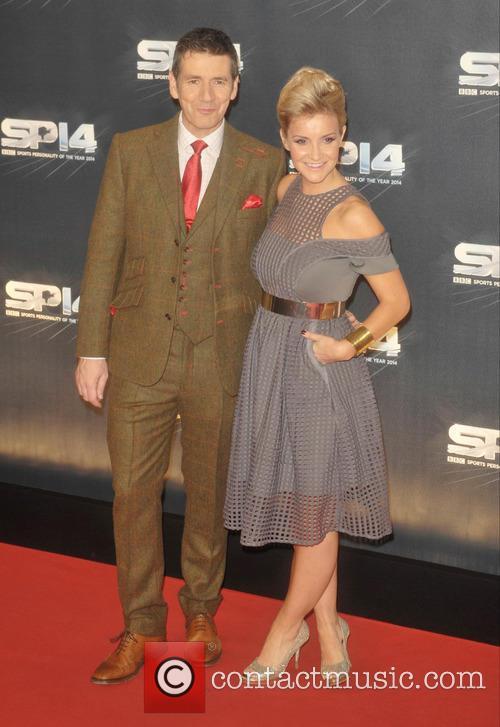 Dougie Vipond and Helen Skelton 2