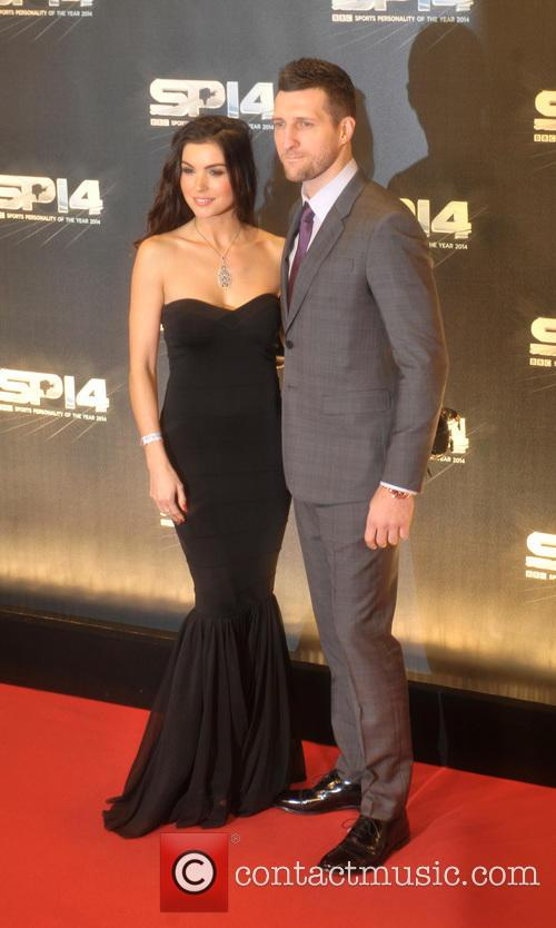 Carl Froch and Rachael Cordingley 1