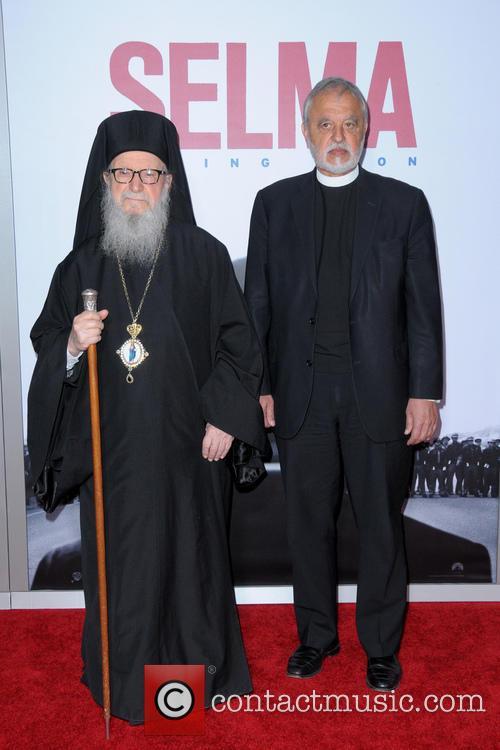 Archbishop Demetrios Of America and Father Karloytsos 3