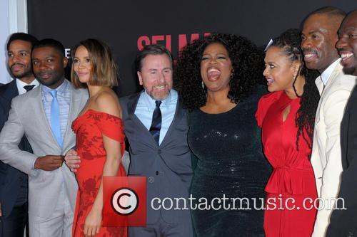 David Oyelowo, Carmen Ejogo, Tim Roth, Oprah Winfrey and Ava Duvernay 8