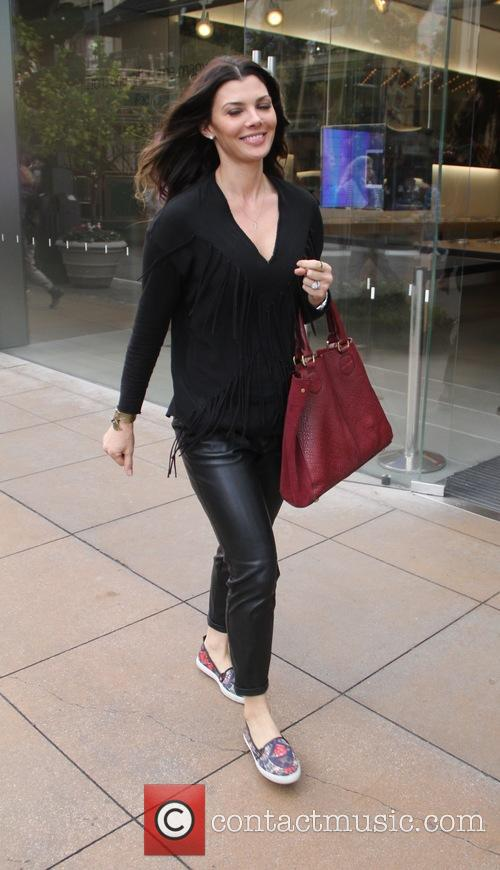 Ali Landry goes shopping at The Grove