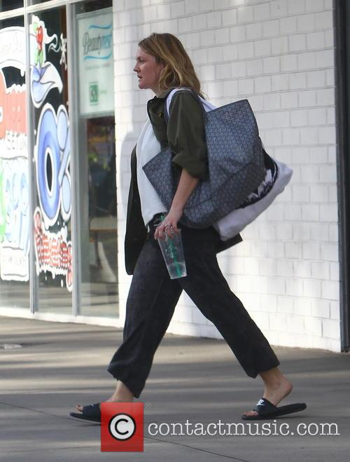 Drew Barrymore out and about in Los Angeles