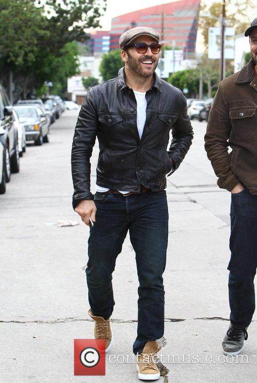 Jeremy Piven out and about in Melrose Avenue