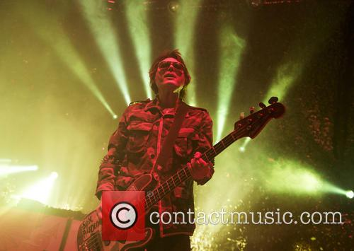 Manic Street Preachers performing live at the Roundhouse