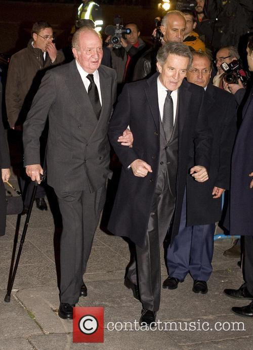 Alfonso Diez and King Juan Carlos 3