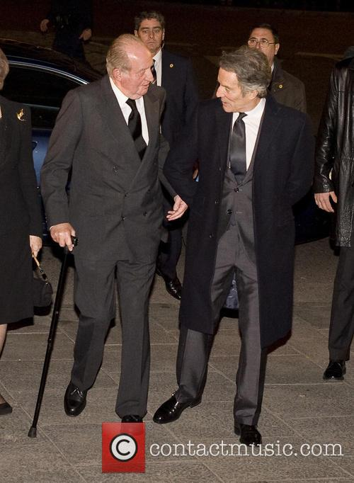 Alfonso Diez and King Juan Carlos 6