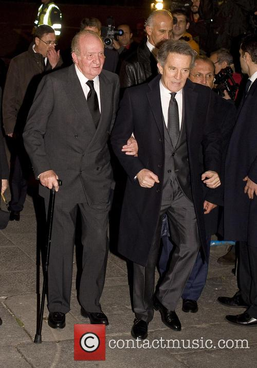 Alfonso Diez and King Juan Carlos 7