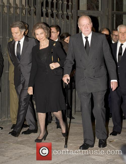 Alfonso Diez, King Juan Carlos and Queen Sofia 1