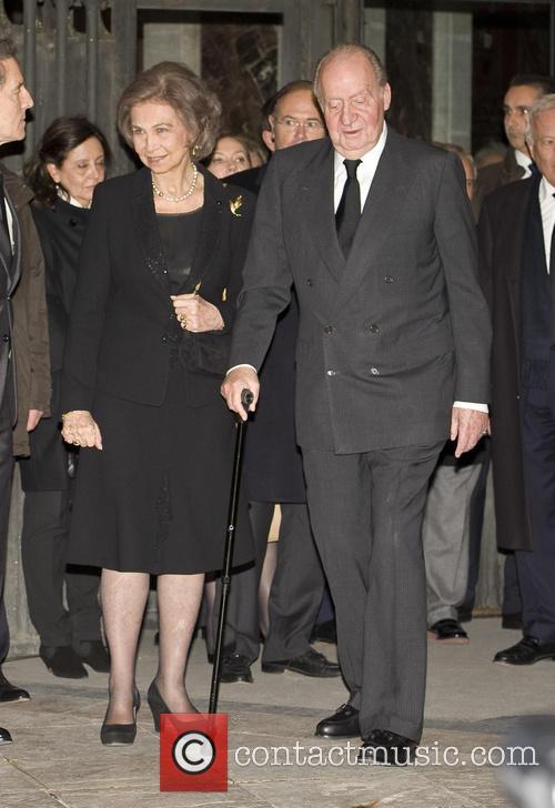King Juan Carlos and Queen Sofia 1