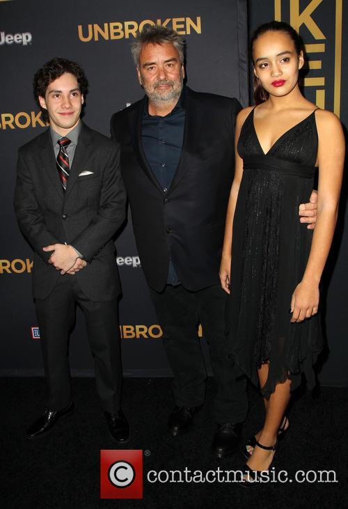 John D'leo, Luc Besson and Talia Besson