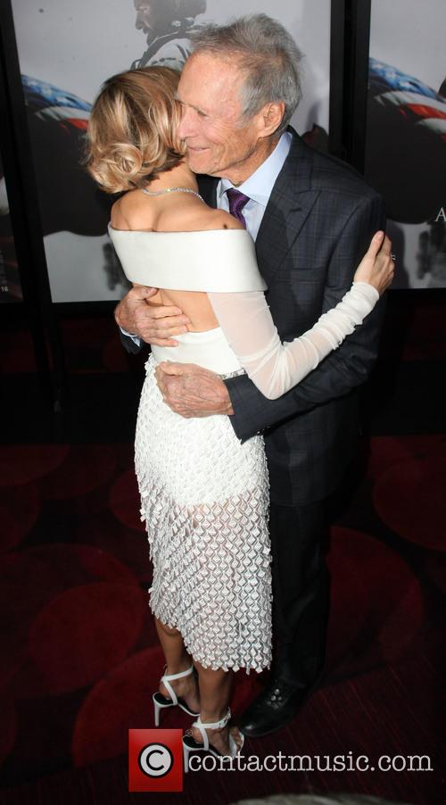 Sienna Miller and Clint Eastwood 11