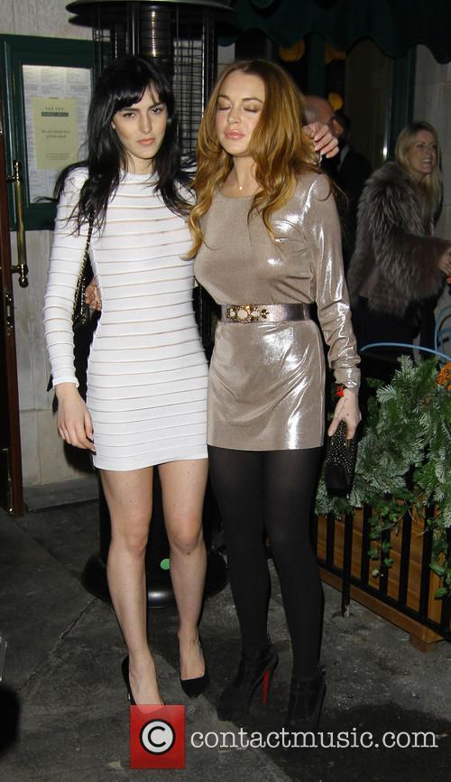 Lindsay Lohan and Sister Ali Lohan 11