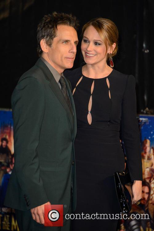 Ben Stiller and Christine Taylor 6