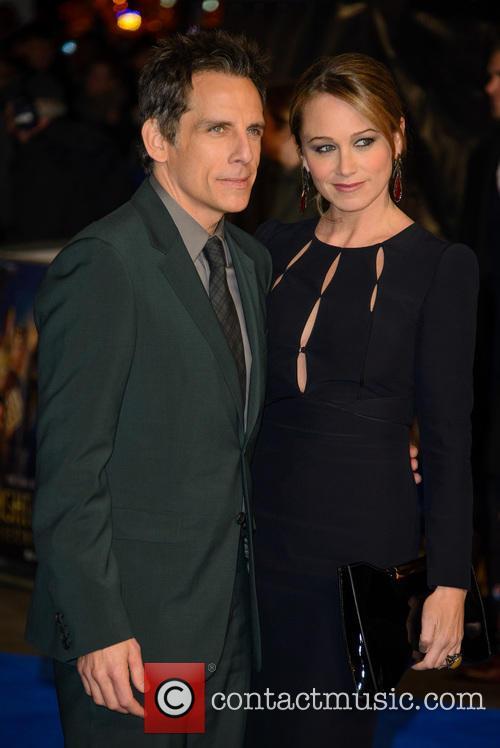 Ben Stiller and Christine Taylor 7