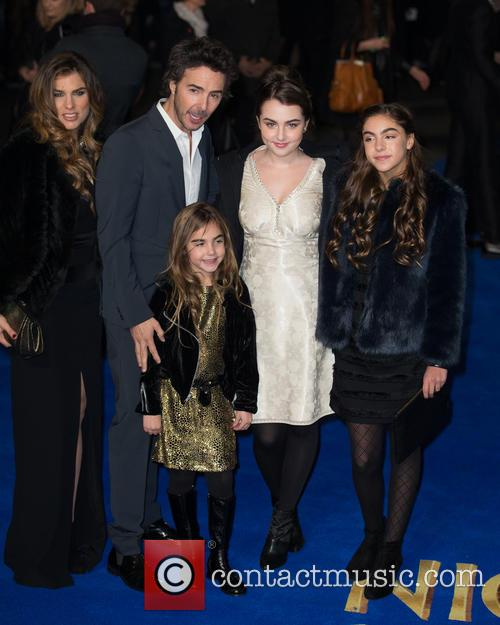 Shawn Levy, Serena Levy, Sophie Levy, Tess Levy and Friend 3