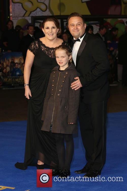 Sam Bailey, Husband Craig Pearson and Daughter Brooke 11
