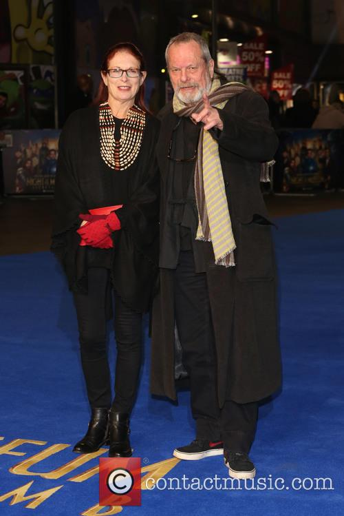 Terry Gilliam and Wife Maggie Weston 4