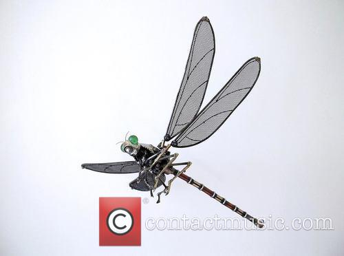Insect, Animal Art Made From and Recycled Components 2