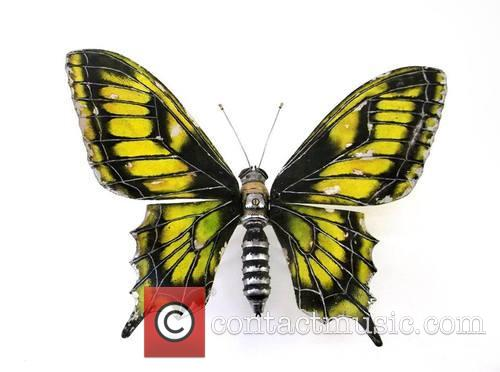Insect, Animal Art Made From and Recycled Components 6