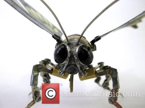 Insect, Animal Art Made From and Recycled Components 10