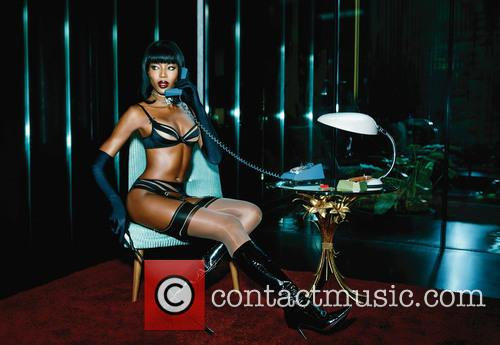 Naomi Campbell and Agent Provocateur 2