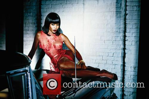 Naomi Campbell and Agent Provocateur 3