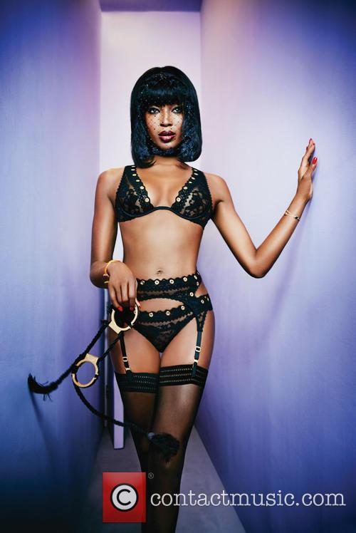 Naomi Campbell and Agent Provocateur 6