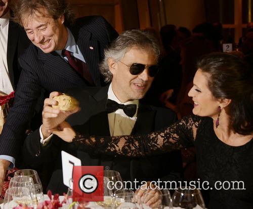 Andrea Bocelli, Veronica Berti and Marco Bocelli 3