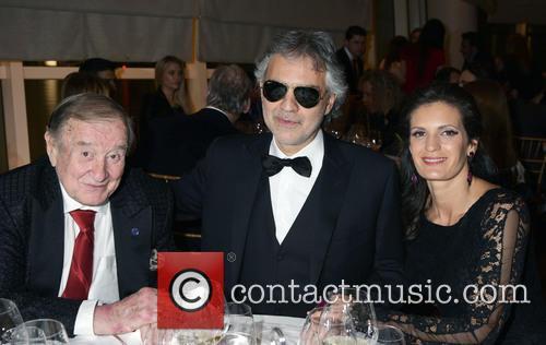Sirio Maccioni, Andrea Bocelli and Veronica Berti 3