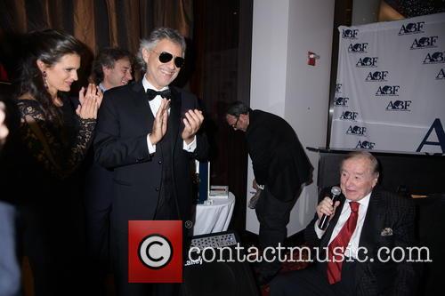 Veronica Berti, Andrea Bocelli and Sirio Maccioni 1