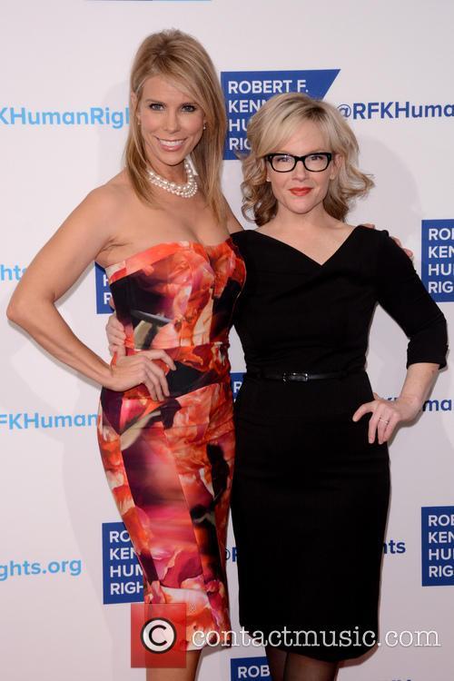 Cheryl Hines and Rachael Harris 5