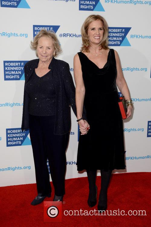 Ethel Kennedy and Kerry Kennedy