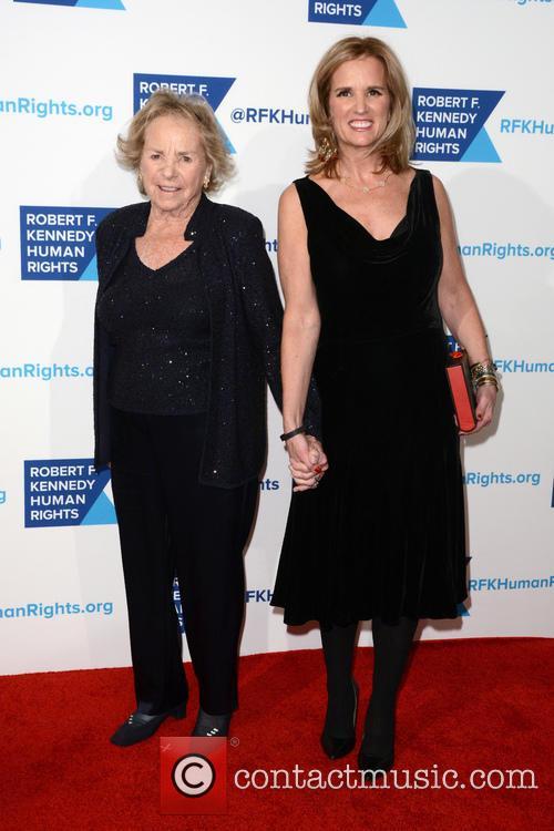 Ethel Kennedy and Kerry Kennedy 2