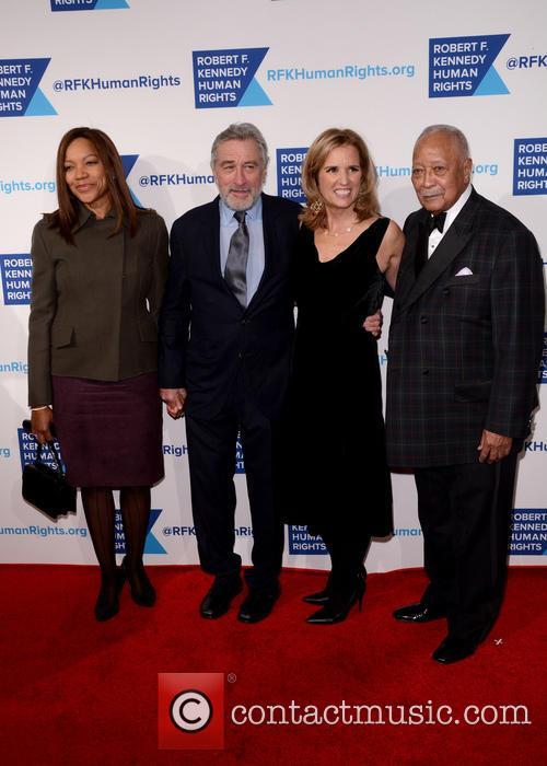 Grace Hightower, Robert De Niro, Kerry Kennedy and David Dinkins 7