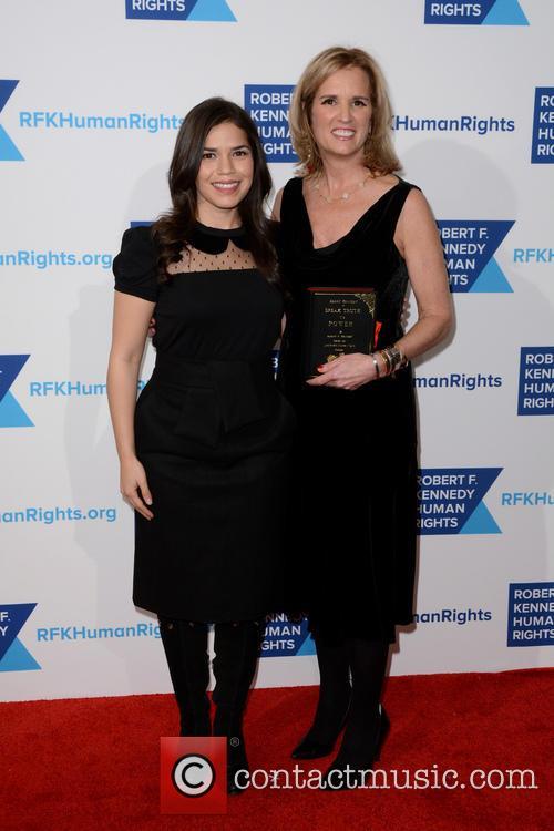 Kerry Kennedy and America Ferrera 2