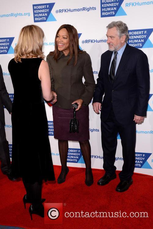 Kerry Kennedy, Grace Hightower and Robert De Niro 5