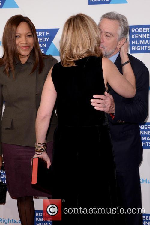 Kerry Kennedy, Grace Hightower and Robert De Niro 6
