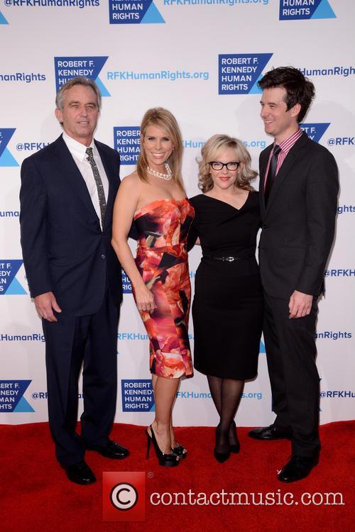 Robert F. Kennedy Jr., Cheryl Hines, Rachael Harris and Christian Hebel 2