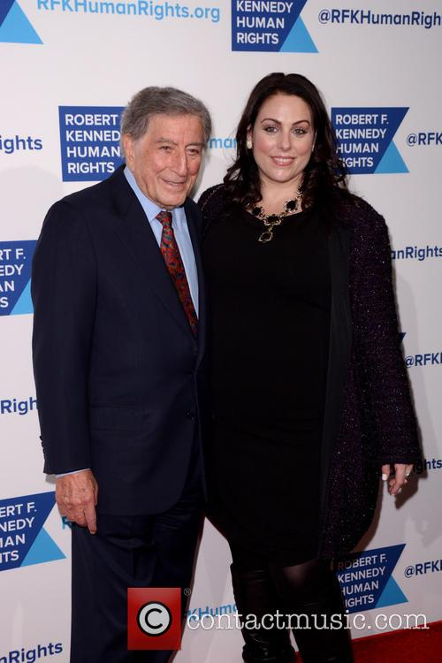 Tony Bennett and Joanna Bennett 4