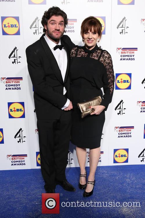 Katherine Parkinson and Husband 2