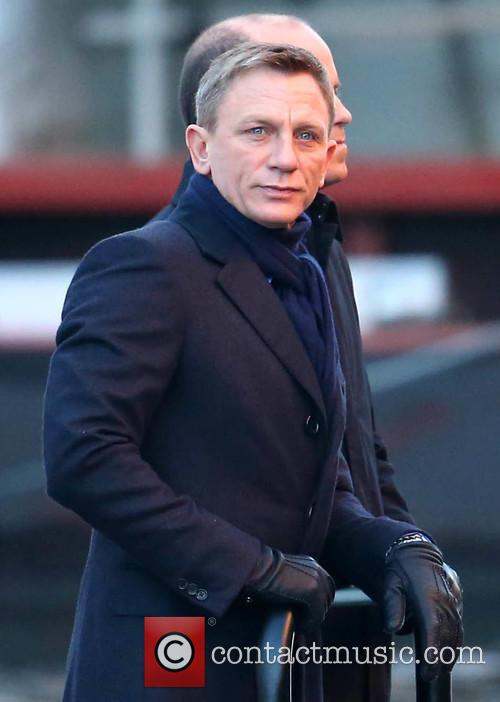 Filming of the new James Bond movie 'Spectre'